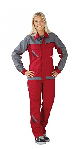 da lavoro rosso abbigliamento ardesia Schwarz Schiefer collare giacca Rot nero Highline g5ETwq77