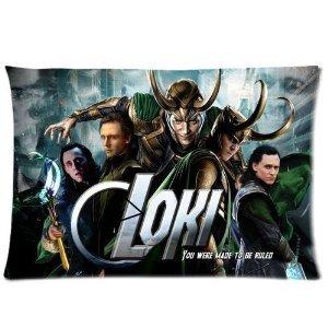 HOT Selling Tom Hiddleston The Avengers Loki Laufeyson Pillowcase Standard Size Design Cotton Pillow Case - Loki Laufeyson Costume
