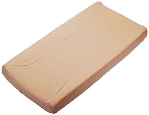 (TL Care Velour Fitted Contoured Changing Pad Cover Made with Organic Cotton, Mocha, for Boys and Girls)