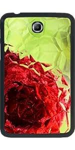 "Funda para Samsung Galaxy Tab 3 P3200 - 7"" - Polígono Rosa"