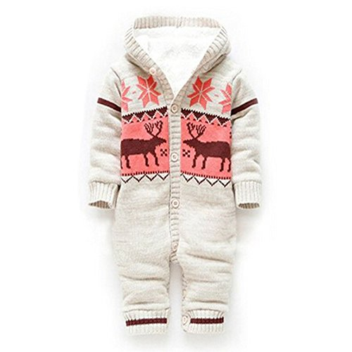 d73a27b63 Dimore Baby Rompers One Piece Jumpsuit Reindeer Design Printed - Buy ...