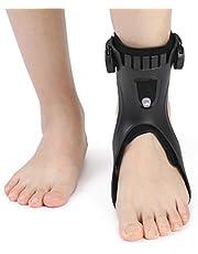 Voetsteun orthese drop foot brace Enkelbrace Enkelspalk voor Verstuikingen, Tendinitis/Vrouwen en Mannen,Right single,M