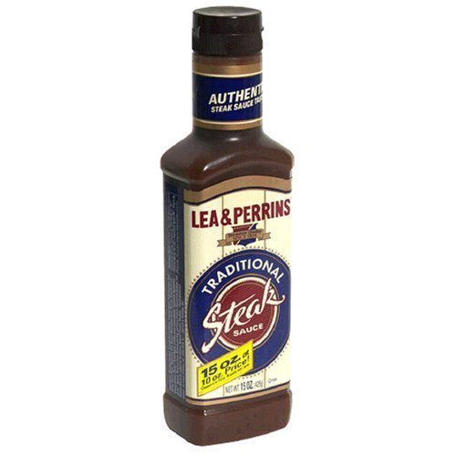 Lea & Perrins Traditional Steak Sauce, 15-Ounce Bottle (Pack of 36)