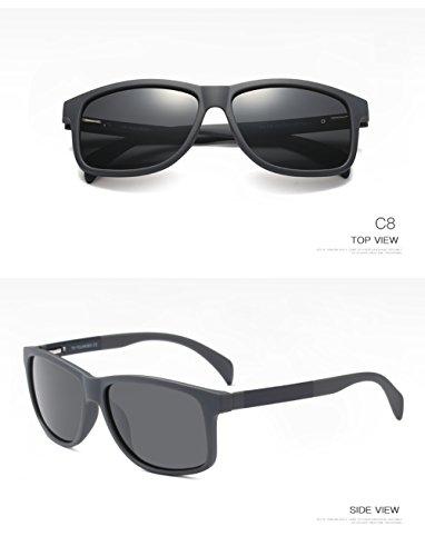 Hombre para Polarizadas Sol UV Gafas C1 400 Protección Mujer De Aviator para C3 nZqx0Wf