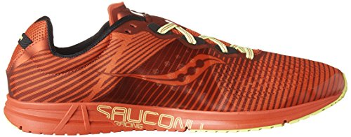 SAUCONY TYPE A 8 MENS (8,5 USA - 42 EUR) (RED/CITRON)