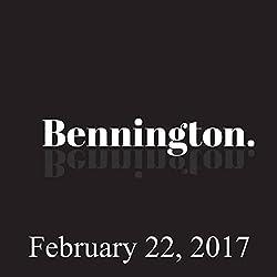 Bennington, Paul Morrissey, February 22, 2017