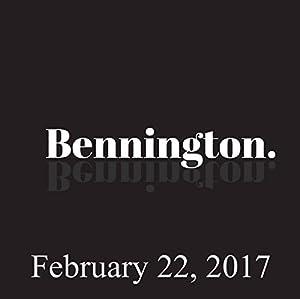Bennington, Paul Morrissey, February 22, 2017 Radio/TV Program