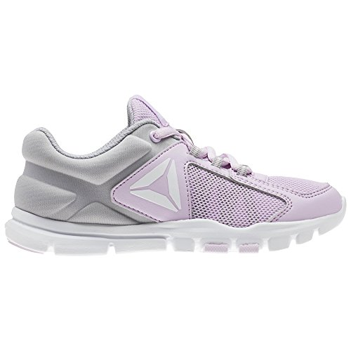000 Multisport moonglow Yourflex Scarpe white stark Reebok 9 Bambina Indoor Rosa Train 0 Grey SYOTwq6w