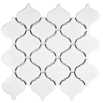SomerTile Retro Beacon Porcelain Floor and Wall Tile