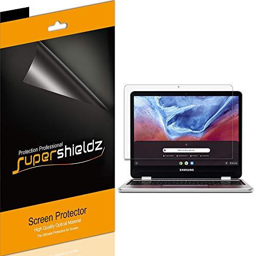 Supershieldz (3 Pack) for Samsung Chromebook Plus/Chromebook Plus V2 12.2 inch (XE520QAB, XE521QAB) Screen Protector, High Definition Clear Shield (PET)