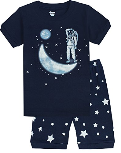 Luminous Space Pajamas Children Cotton product image