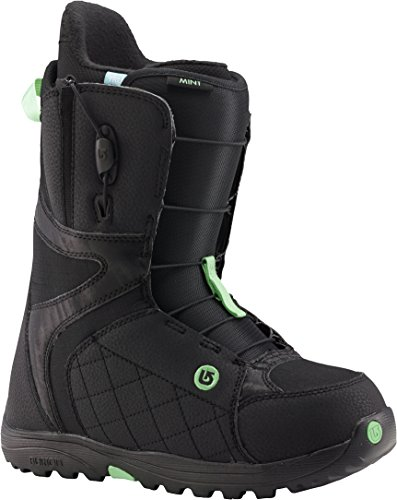 BURTON NUTRITION Burton - Womens Mint Snowboard Boots 2015, Black-Mint, 5