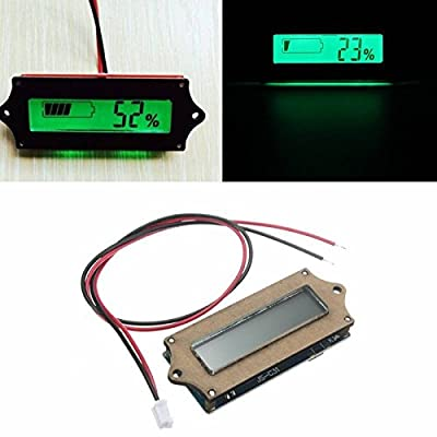 Saver 12V Lead-acid Lithium LiPo Battery Power Capacity LCD Indicator Tester Voltmete