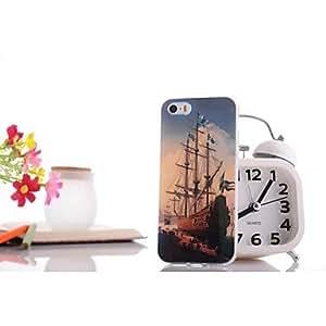 Glare Sailing pattern TPU Soft Case for iPhone 6 plus