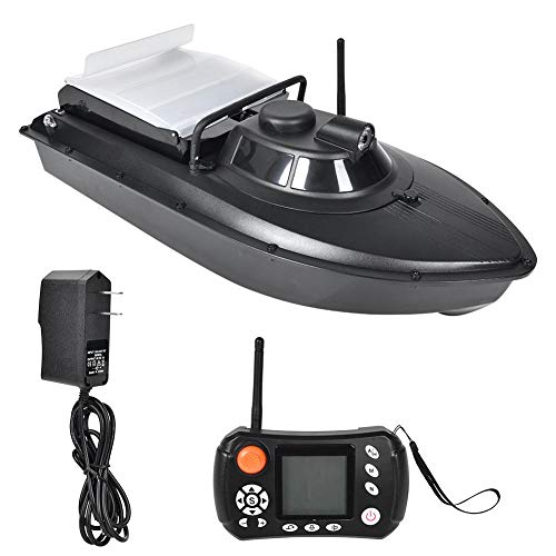 Alomejor 2.4G Fish Finder Boat GPS Remote Control Fish Bait Boat Wireless Smart Fishing Device with Navigation Lights