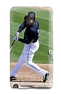 Excellent Design Seattle Mariners Phone Case For Galaxy Note 3 Premium Tpu Case