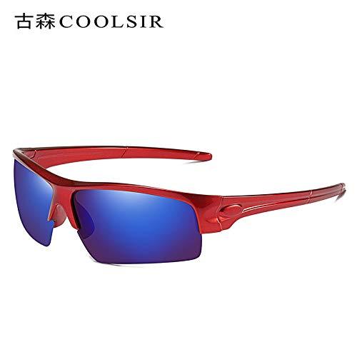 équitation Sport sunglasses Lunettes frame Miroir Soleil air Sports de Lunettes pour de Homme de Plein polarisées Red nbsp;polarisées Mjia nbsp;colorées dvwtqd