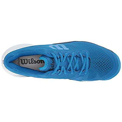 Wilson RUSH PRO 3.0 Tennis Shoes, Imperial Blue/White/Brilliant Blue, 12.5 | Tennis & Racquet Sports