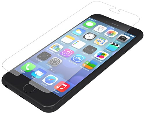 ZAGG InvisibleShield Glass Screen Protector for Apple iPhone 6 / iPhone 6s – Case Friendly