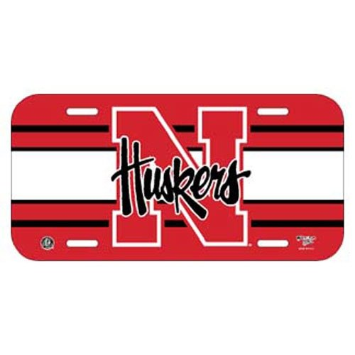 NCAA University of Nebraska License Plate (Ncaa Nebraska University)