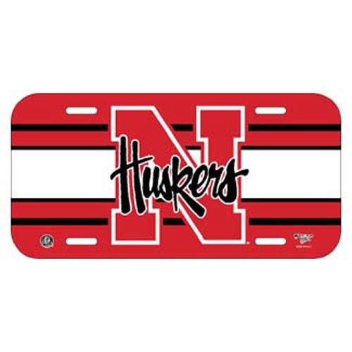WinCraft NCAA University of Nebraska License Plate