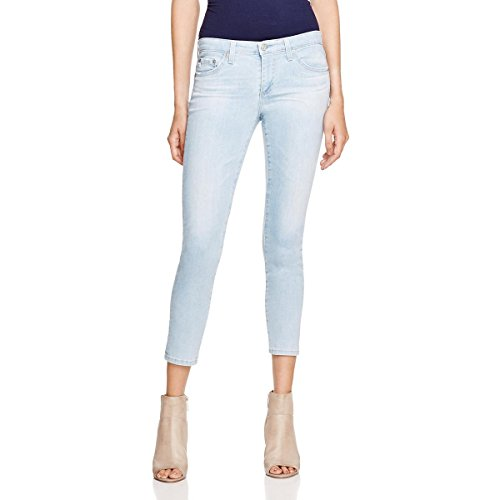 AG Adriano Goldschmied Women's The Stilt Crop in 17 Years Bluejay, 30