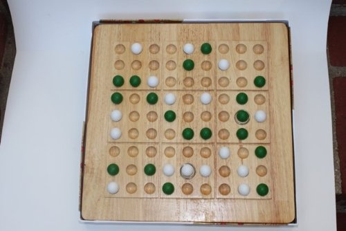 Mad Cave Games 1027 Tic-Tac-Ku Add On Unit Green And White Balls ()