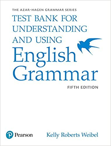 Understanding and using english grammar test bank betty s azar understanding and using english grammar test bank 5th edition fandeluxe Gallery