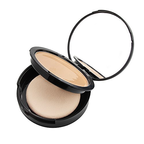 Bellasophy Compact Pur Mineral Creamy Soft Smooth Matte Full Coverage Foundation Long Lasting with The Sponge-Classic Ivory