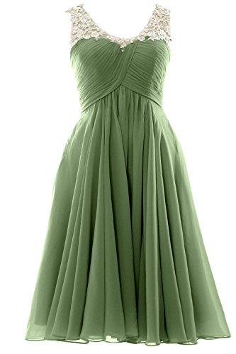 Prom Homecoming Party Gown Dress V Neck Wedding Formal clover Gorgeous Short MACloth qCxXRIwx