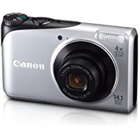 Canon Powershot A2200 14.1 MP Digital Camera with 4x Optical Zoom (Silver) Key Pieces Review Image