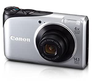 Canon Powershot A2200 14.1 MP Digital Camera with 4x Optical Zoom (Silver)