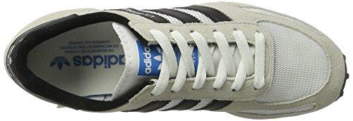 Og Scarpe White da Black Ginnastica st Vintage adidas La Unisex Core Brown – Trainer Beige Basse Adulto Clear tqx71EwF