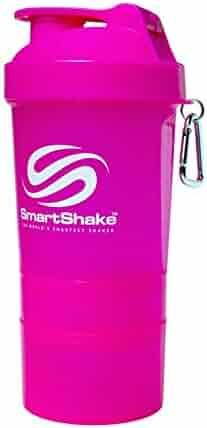 Original Bottle, 20 oz Shaker Cup, Neon Pink