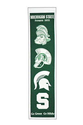 NCAA Michigan State Spartans Heritage Banner