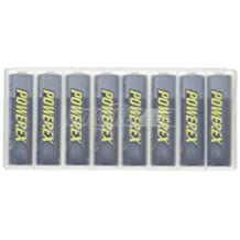Powerex MH-8AA270-BH Powerex AA 2700mAh 8-Pack Rechargeable Batteries