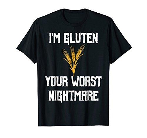 Funny Halloween Candy Gluten T Shirt