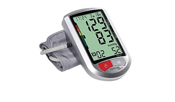 Tensiómetro para el brazo con extra grandes Pantalla - Tensiómetro Pulsómetro sangre presión arterial (Incluye Pilas + arrhythmie de detección): Amazon.es: ...
