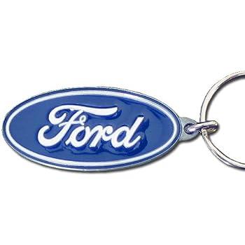 Amazon.com: Ford Blue Oval Premium Pewter Keychain: Automotive
