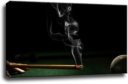 billar - cuadro sobre lienzo - 60 x 40 cm: Amazon.es: Hogar