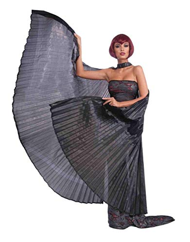 Forum Novelties Gothic Theatrical Costume Wings, Black