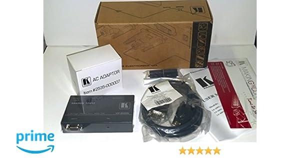 competitive price c8da5 5ecc1 Kramer Electronics VP-200N 1:2 Computer Graphics Video Distribution  Amplifier, VGA - UXGA Video Splitter
