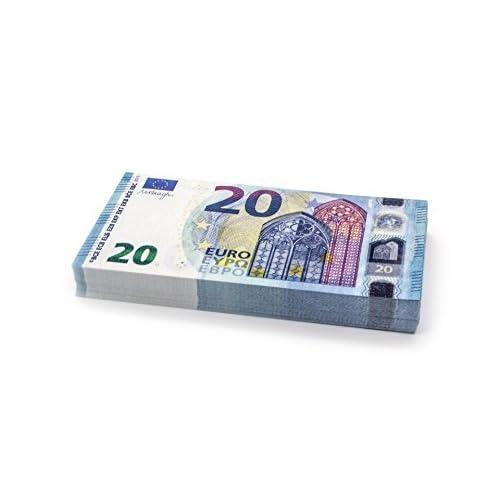 Cashbricks® 100 x €20 EURO (new 2015) billets d'argent fictif (diminués jusqu'à 75% de la taille originale)