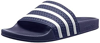 adidas Originals Adilette Sandals 6.5 B(M) US Women / 5.5 D(M) US Blue