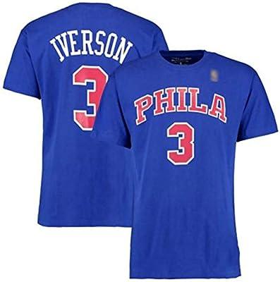 more photos 9626a 89d88 Men's Jersey Basketball Uniform-NBA Philadelphia 76Ers Allen ...