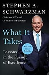 NEW YORK TIMES BESTSELLERFrom Blackstone chairman, CEO, and co-founder Stephen A. Schwarzman, a long-awaited book that uses impactful episodes from Schwarzman's life to show readers how to build, transform, and lead thriving organizations. Wh...