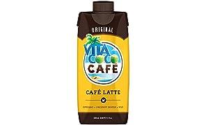 Vita Coco Café Latte, Original, 11.1 Ounce (Pack of 12)