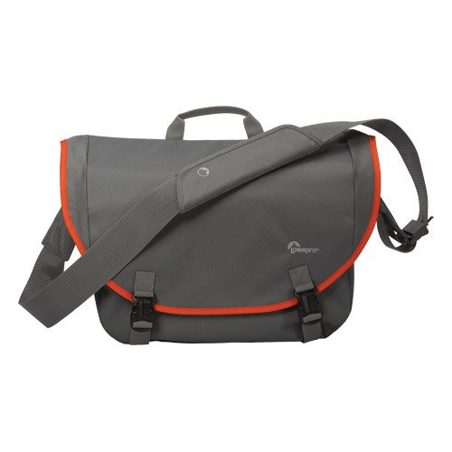 Lowepro Passport Messenger Bag - Grey/Orange (Best Value Csc Camera)