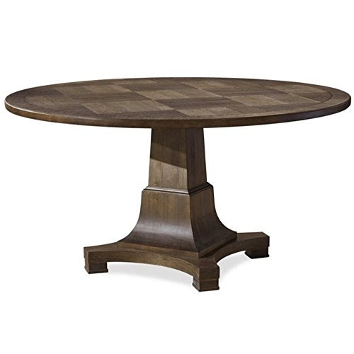 - Universal Furniture Playlist Round Dining Table in Brown Eyed Girl