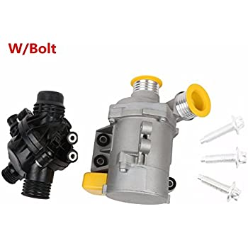 MOSTPLUS New Electric Engine Water Pump and Thermostat For BMW E90 X3 Z4 1 3 5 Series 11517586925